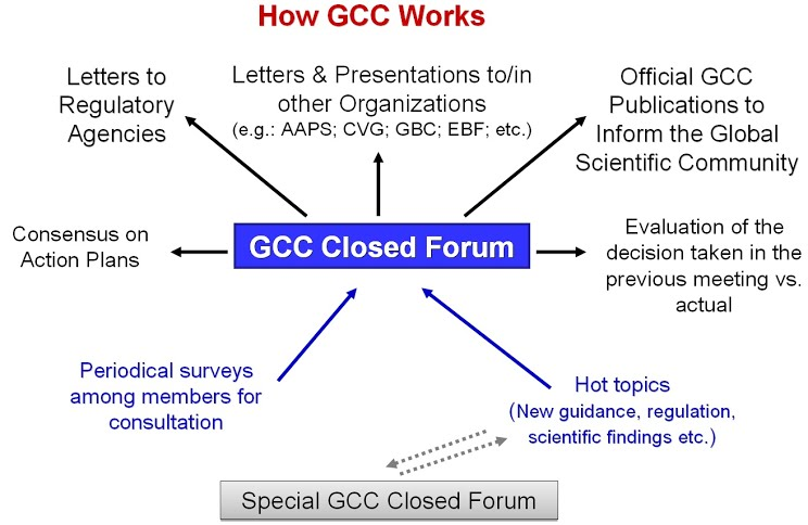 GCC Working Structure